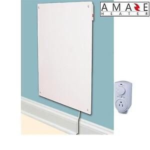 NEW AMAZE HEATER PANEL HEATER SET 600SSTH 220702031 PLUG IN THERMOSTAT ELECTRIC