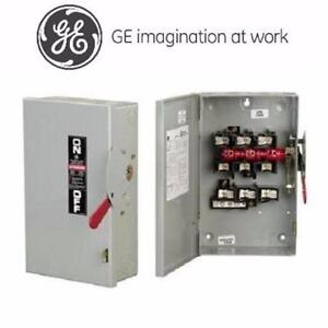 GENERAL ELECTRIC 100A 600V 3P HEAVY DUTY INDOOR FUSIBLE SWITCH