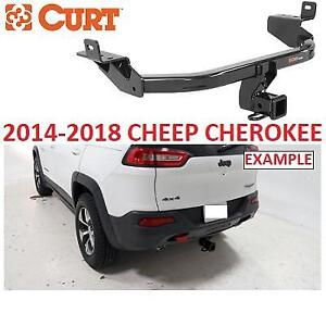 NEW* CURT TRAILER HITCH 13172 226029262 CLASS 3 2014 TO 2018 JEEP CHEROKEE
