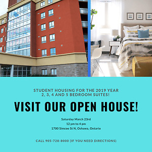 Open House - Durham/UOIT Student Housing - $560 and up