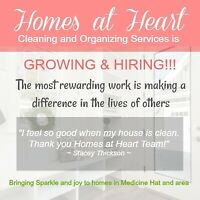 HIRING!!! AWESOME CLEANERS WITH BIG HEARTS!