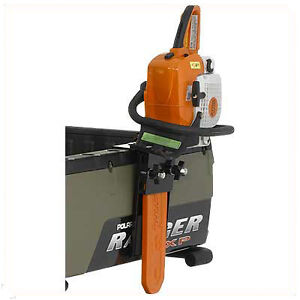 polaris new ranger lock ride chainsaw mount carrying bracket sawpress ebay. Black Bedroom Furniture Sets. Home Design Ideas