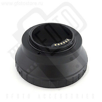 Nikon F lenses to Nikon 1 adapter with AF/EXP chip Gfoto