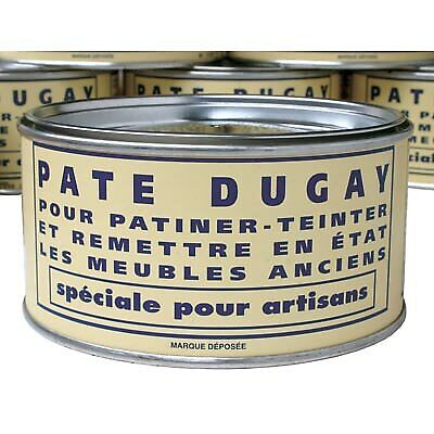 Pate Dugay Furniture Wax (Made in France)-Acajou (Mahogany)