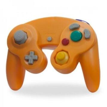 Neue Gamecube Controller Orange
