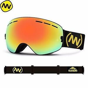 (Save 20% YEE1SFSCS0H2)  I NEED THAT !!!! NANDN brand ski goggles double UV400 anti-fog
