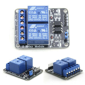 5V Relay 10A Module for Arduino Projects (2-, or 4-channels)