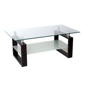 Glass coffee table in great condition!