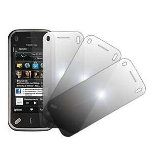 For Nokia N97 Mini 3 Pack Mirror Screen Protectors