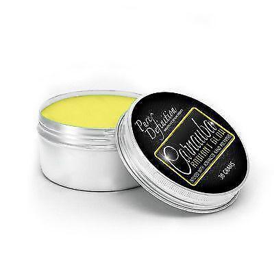 Yellow Paste (Yellow Car Wax Carnauba Radiant Glow 30g Paste High Gloss Pure Definition )
