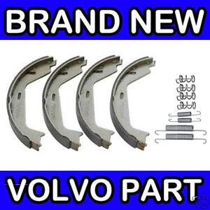 Volvo S60, S80, V70 (00-) Handbrake Shoe Kit / Set