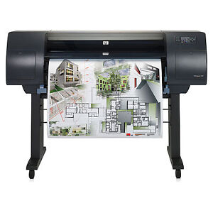 Refurbished HP Designjet plotters, with warranty, $650 & up London Ontario image 5