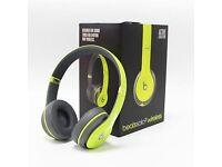 Beats solo 2 wireless headphones shock yellow