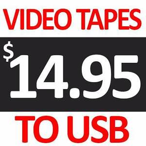 Digitise VHS/VCR Tapes, Films & Photos to DVD/USB Southport Gold Coast City Preview