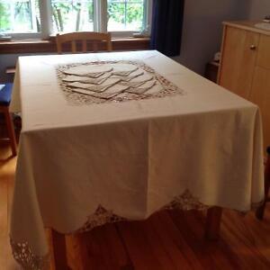 Nappe et serviettes de table en lin West Island Greater Montréal image 4