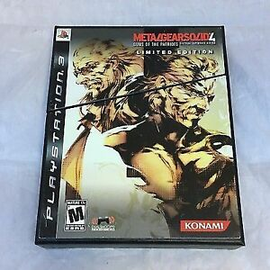 Collectionneurs** Metal Gear solid 4 edition limite ps3 like new