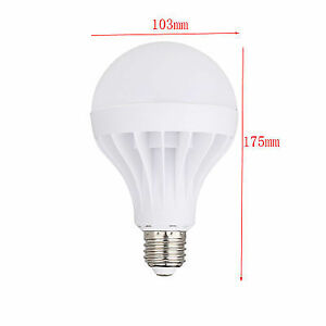 LED E27 Energy Saving Bulb Light 20W Globe Lamp 110V