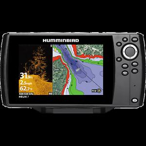 Fishermans Humminbird Helix 7 CHIRP Di GPS G2 Fishfinder for