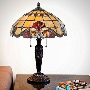 Tiffany Inspired Table Lamp