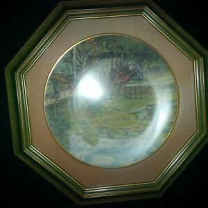 4 Framed Peter Etril Snyder Collector Plates Kitchener / Waterloo Kitchener Area image 6