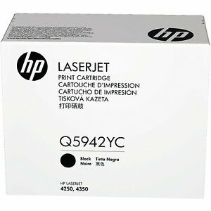 HP Q5942YC Black cartridge for Laserjet 4250/4350 Series sealed