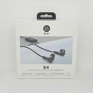 a705ed00f07 2017 B&o Play BeoPlay E4 Advanced Active Noise Cancelling Earphones ...