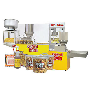 Caramel Popcorn MACHINE AND SUPPLIES - FOR SALE/RENT