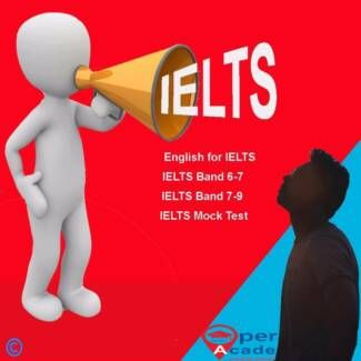IELTS Full Package / IELTS Band score 6 - 7 / IELTS Band Score 8+