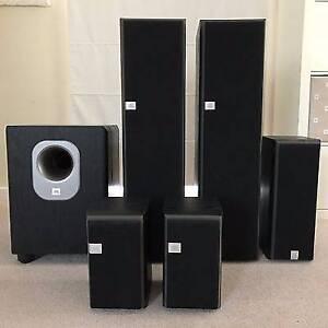 Harmon Kardon Amplifier & JBL Balboa 5.1 Speaker System Southern River Gosnells Area Preview