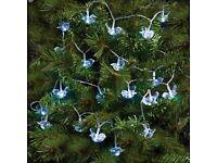Christmas Decorations. Crystal Robin String Lights (20)