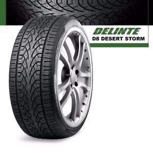 275 25 R24 Delinte Desertstorm D8 $499 CASH ( 4 New tires ) Pick up @Zracing 905 673 2828 ( 4 New tires ) 275/25R24