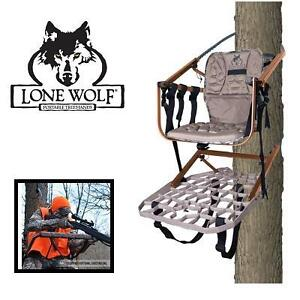 NEW LONE WOLF SIT CLIMB TREE STAND - 121843644