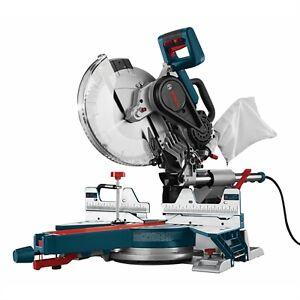 "Bosch 12"" 15 Amp Dual-Bevel Sliding Mitre Saw Brand New in Box"