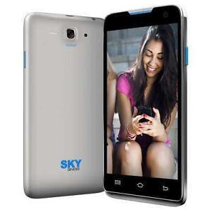 "SKY 4.5D 4.5"" UNLOCKED DUAL SIM SMARTPHONE - BLACK"