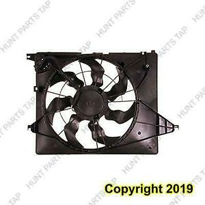 Radiator Cooling Fan Assembly 3.3L (6-7 Passenger) Hyundai Santa Fe 2013-2017