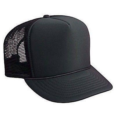 4960a7b9453 Plain Trucker Hat