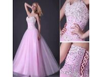 GK Grace Karin Pink Dress with sequin detail size 12 - new without tag