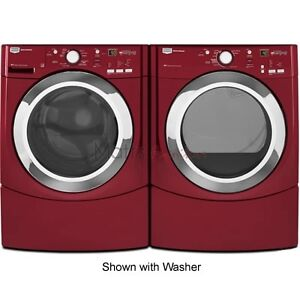 Maytag washer and dryer set red