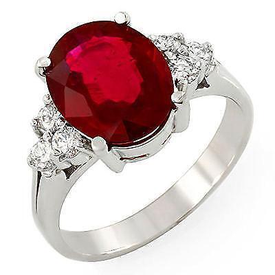 Vintage Natural Ruby Ring