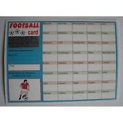 Football Scratch Cards