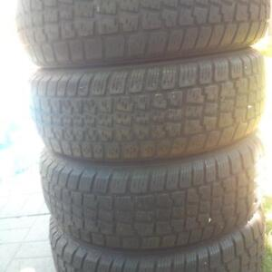 Avalanche snow tires 215/65R16