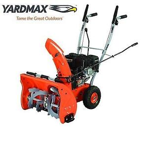 NEW* YARDMAX 22'' GAS SNOW BLOWER YB5765 222815699 2 STAGE SNOWBLOWER WINTER 6.5HP 196cc