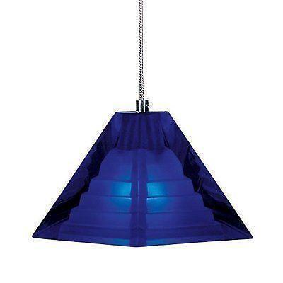 cobalt blue pendant light ebay. Black Bedroom Furniture Sets. Home Design Ideas