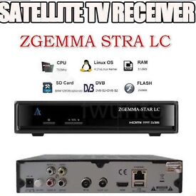 Zgemma LC cable receiver with 6 months warranty included