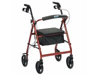 Drive Rollator R8 walking aid. A suggested donation to charity of £20 is all we're asking.