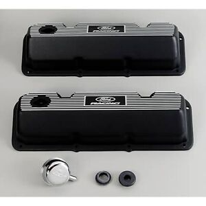Ford Racing 302 351 Cleveland Aluminum Rocker Covers # M-6582-A341R