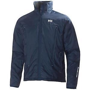 Brand New: Helly Hansen H2 Flow Jacket - Mens Large - Dark Blue