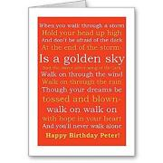 Personalised Liverpool Birthday Card