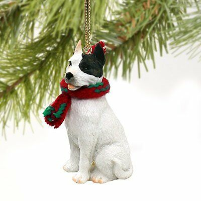 Pit Bull Terrier White Original Ornament