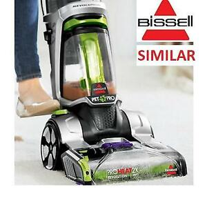 NEW BISSELL CARPET DEEP CLEANER 1548P 244567241 UPHOLSTERY PROHEAT 2X REVOLUTION PET VACUUM
